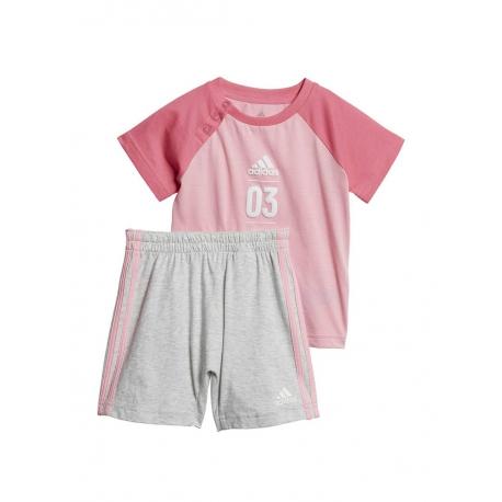 Conjunto Adidas Bebé 3 Lineas Sum set