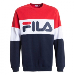 Sudadera Fila Black Iris Red