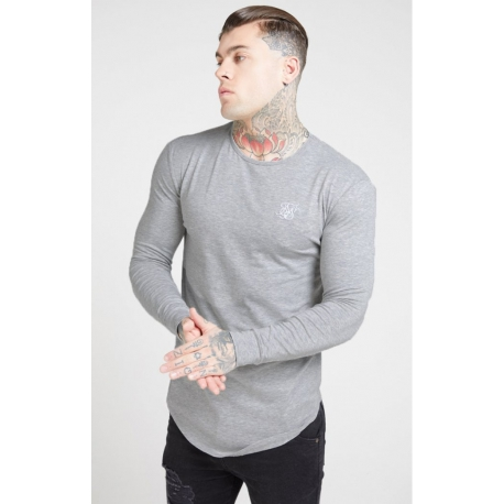 Camiseta Siksilk Gris