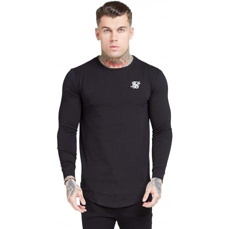 Camiseta Siksilk Negra