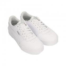 Zapatillas Puma Carina L blanco gris claro mujer