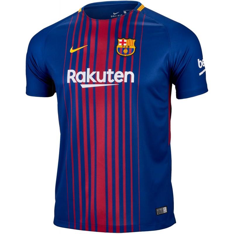 CAMISETA NIKE FC BARCELONA 2017-2018 Oferta - Camisetas clubes ... 6c09e6e8784